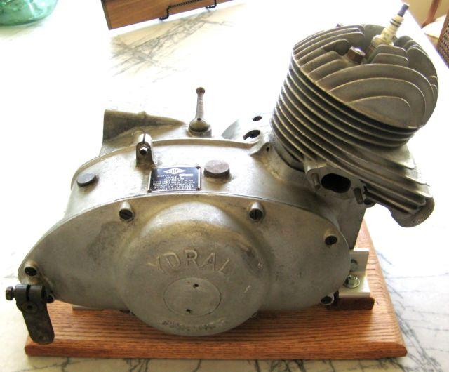 Ydral 1950's 125CC motor