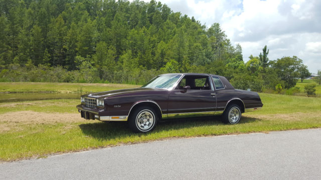 1985 Chevolet Monte Carlo CL For Sale Kissimmee, Florida, United