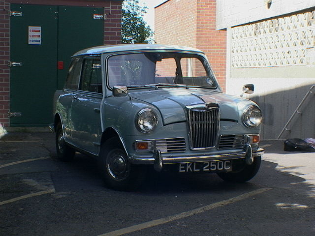 1965, Riley Elf Mk-2, fully restored, 65,190 miles - Like Mini, Hornet, Imp etc