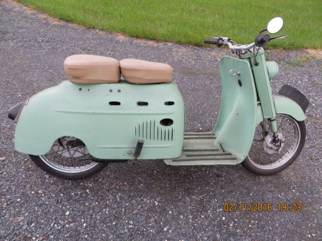 Dkw audi auto union vintage motor scooter 1950 39 s not vespa for Motor wheelchair for sale