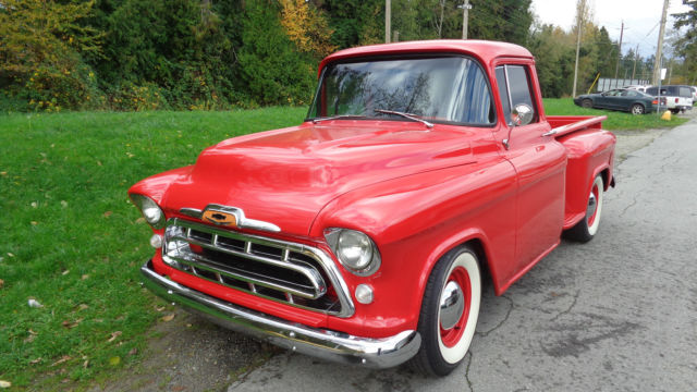 1957 Chevrolet Pickup Step Side Frame off Restoration