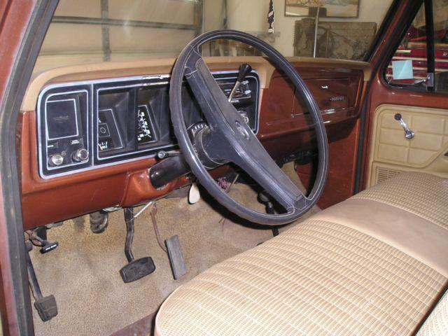 1977 Ford f150 4x4 truck