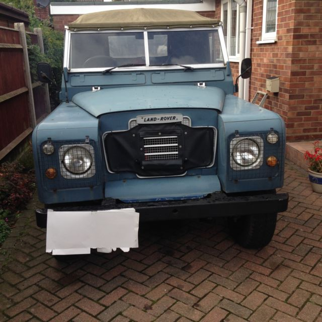 landrover series 3 with sankey widetrack trailer
