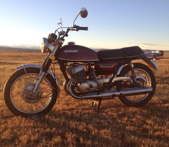 1976 Suzuki T 500 M Titan