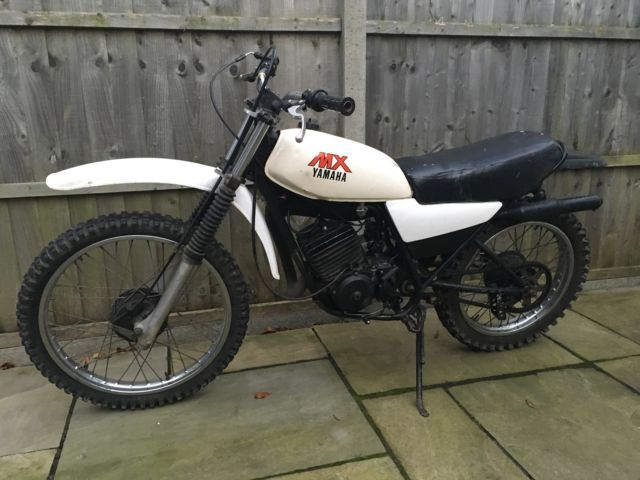 Yamaha dt 175 mx 1979 matching frame, engine numbers running