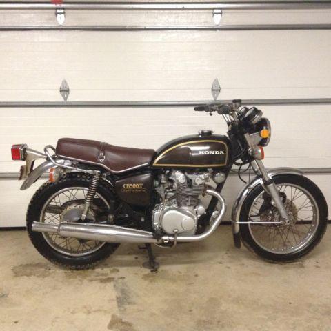 1975 Honda cb500t 17,300 miles good condition