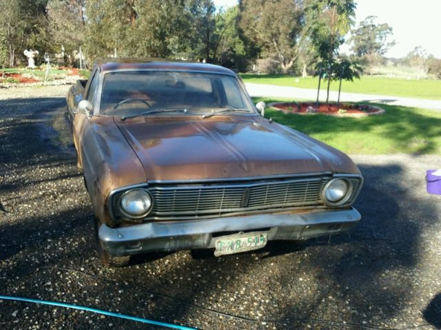 FORD FALCON XT 1969 UTE UTILITY RESTORATION PROJECT