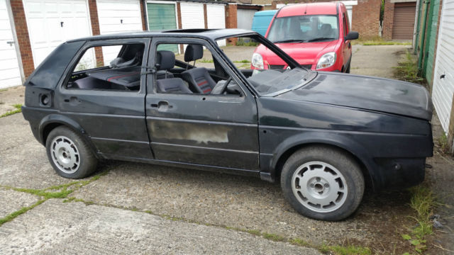 VOLKSWAGEN GOLF GTI MK2 1985 one registered owner 49000 miles