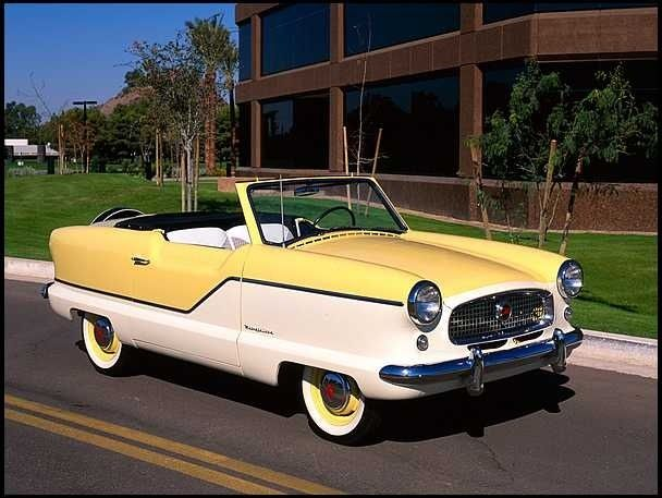1957 Nash Metropolitan Conv-SUPER SHARP