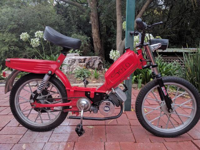 "Vintage ""Kleinmotoren Solo"" German Moped / Scooter Rare"