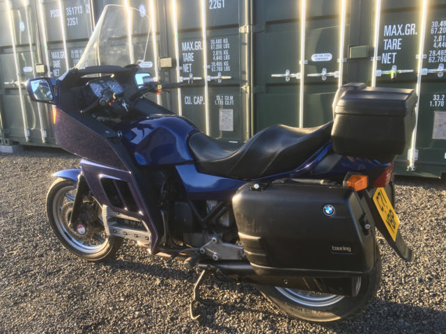 BMW K100RT, WITH FULL LUGGAGE, NEW MOT, SEVICED AND READY TO GO!!