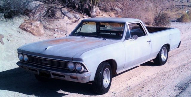 1966 REAL L79 HIGHLY OPTIONED EL CAMINO CUSTOM!