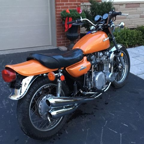 Mint Condition 1974 Kawasaki Z1A 900