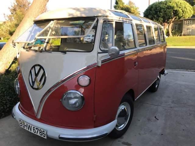 1963 REAL 23 window bus