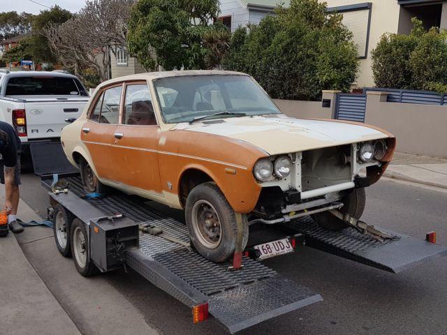 1973 Mazda rx2 series 2.