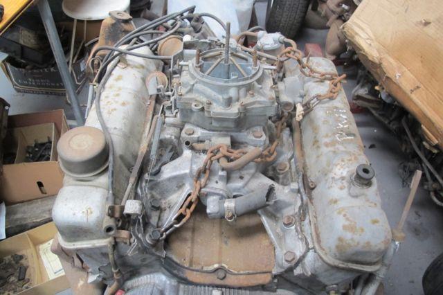 Buick 215cid Aluminium Motor with Transmission