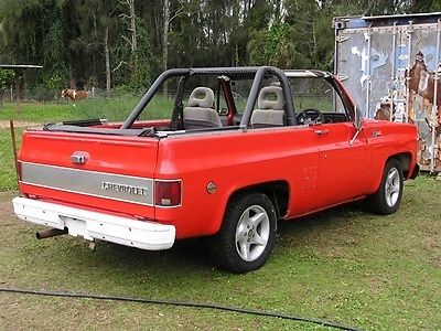 1973 CHEV K5 BLAZER CHEVROLET 2WD 4WD HARD TOP AND FULL SOFT TOP 350 SMALL BLOCK