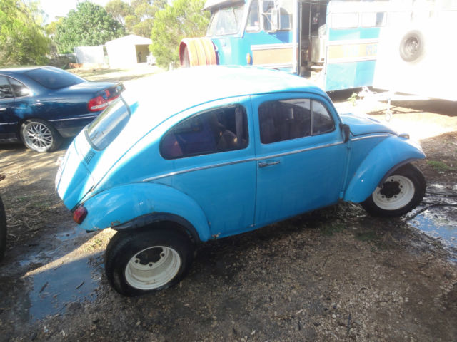 VW Baja Beetle 1960 project car