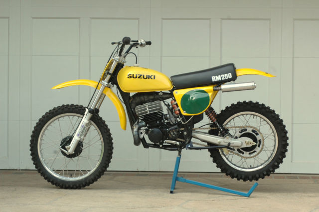 RM 250 Vintage Motorcross Bike 1976 model