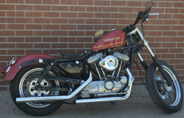 Vintage Classic Harley Davidson XLH1100 Custom 1986 Sportster