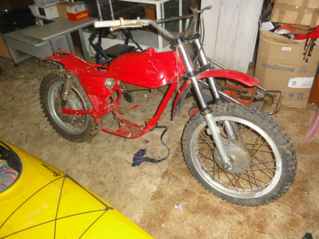 Montesa 250 1970 King Scorpion vintage motocrosser