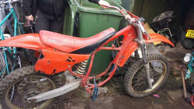 honda cr125 1988 super evo motocross project