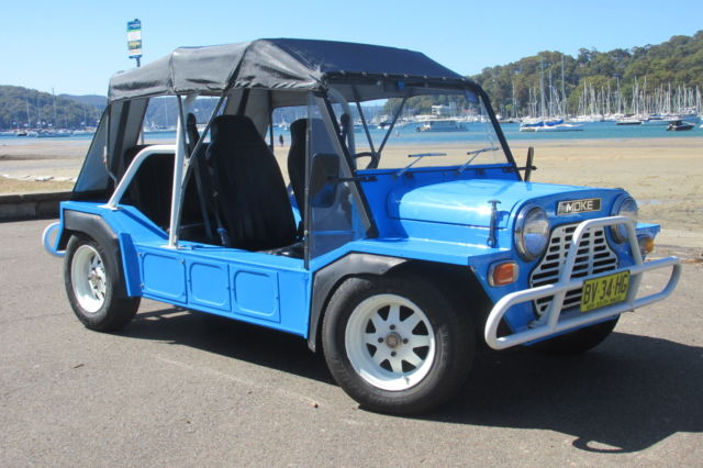 Leyland Moke Open Vehicle (1978) Ute 4 SP Manual (998 cc - Carb)