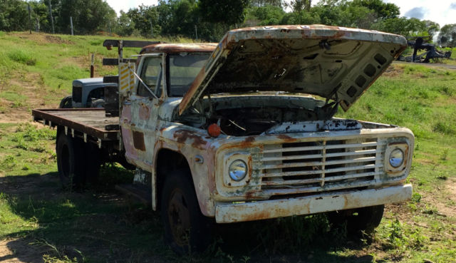 FORD 1972 F500 TRUCK UTE PICKUP NO RESERVE