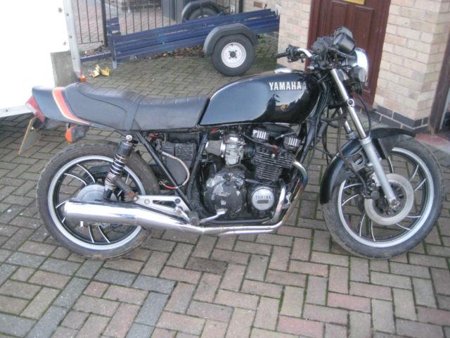 Yamaha XJ550 project cafe racer bober restoration no reserve