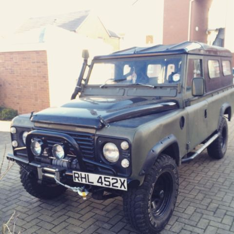 Land rover 109 series 3
