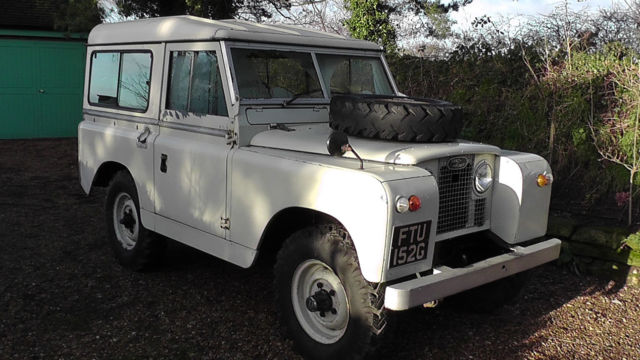 Land Rover Series 2a 1968 SWB NO RESERVE
