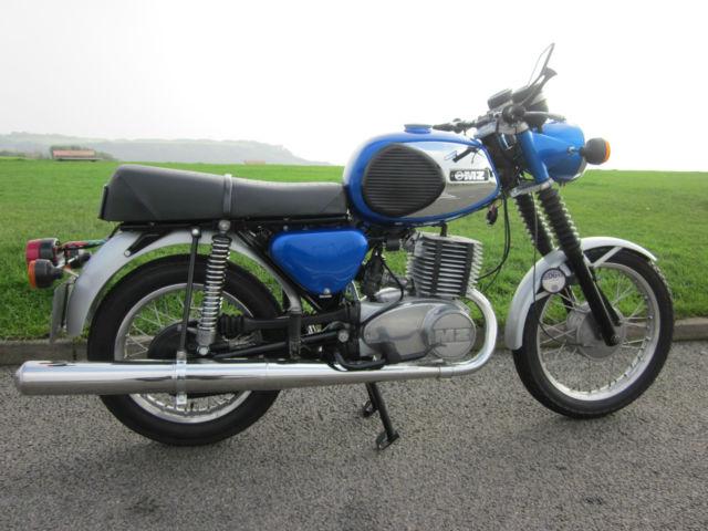 MZ TS 250/1 1978 in Blue