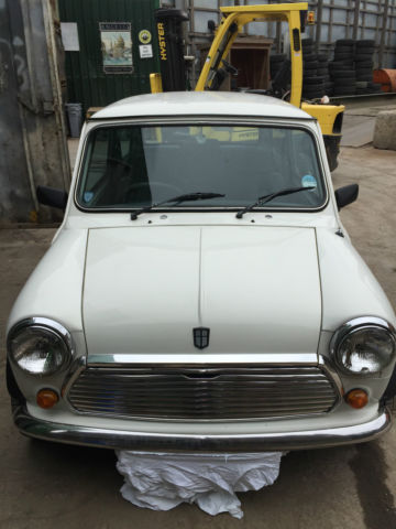 rover mini mayfair never been welded