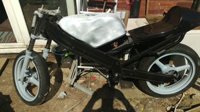 KR1 project bike two stroke cafe racer or return to original RARE not KR1S RGV