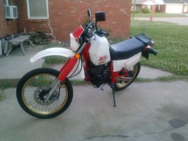 1986 Yamaha XT