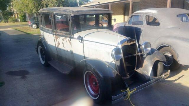 1930 Ford A Model 4 Door Sedan