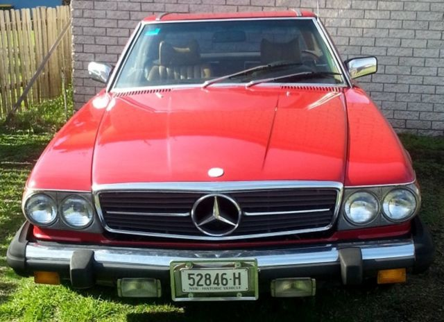 1984 MERCEDES Convertible / Hard Top 380 SL        Very rare