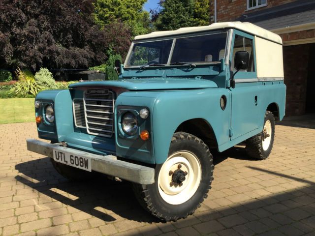 Land Rover Series 3 200Tdi, Galvanised Chassis