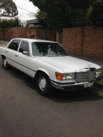 Mercedes-benz 280 SEL (1979) 4D Sedan Automatic (2.7L - Electronic F/INJ) Seats