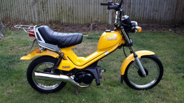 YAMAHA MS50 POPGAL SCOOTER MOPED 50CC VERY LOW MILEAGE YEARS MOT