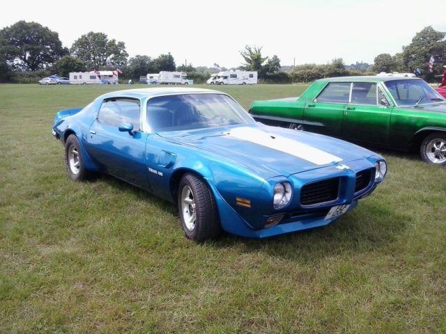Pontiac Trans Am 455 Cu 1973