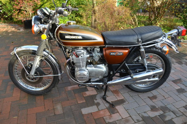 1975 Honda CB550 Four (as CB500 four) US Import Barn Find Classic Restoration