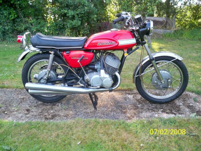 Kawasaki H1 500 1970