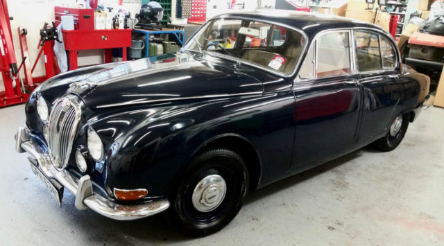 Classic Jaguar S-Type 1965 3.4L manual in very sound condition for restoration.