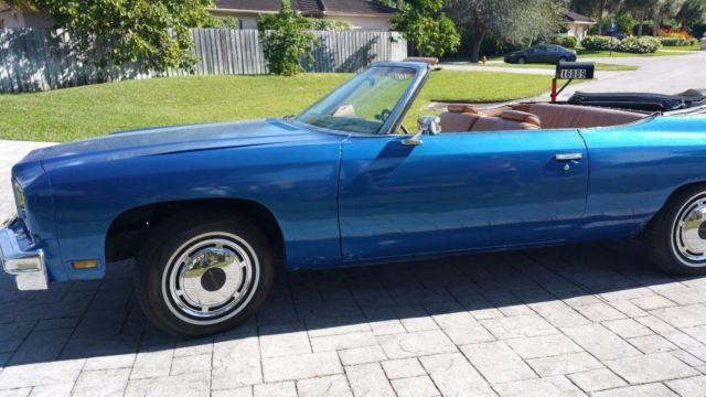 1975 Caprice Chevrolet Convertible