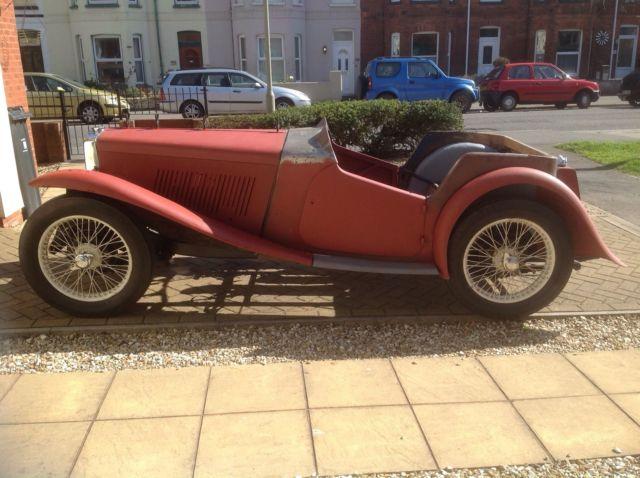 MG TA Restoration Project Barn Find 1936 Pre War Car For Sale