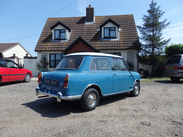 1965 RILEY ELF 998cc MK 11. 32K MILES ONLY ORIGINALLY FROM JERSEY