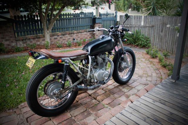 Honda CB360 1974 Brat Style Cafe Racer For Sale Bulli NSW