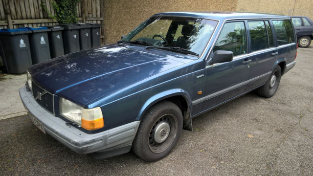 Volvo 740 turbodiesel estate, manual overdrive 'box, new mot