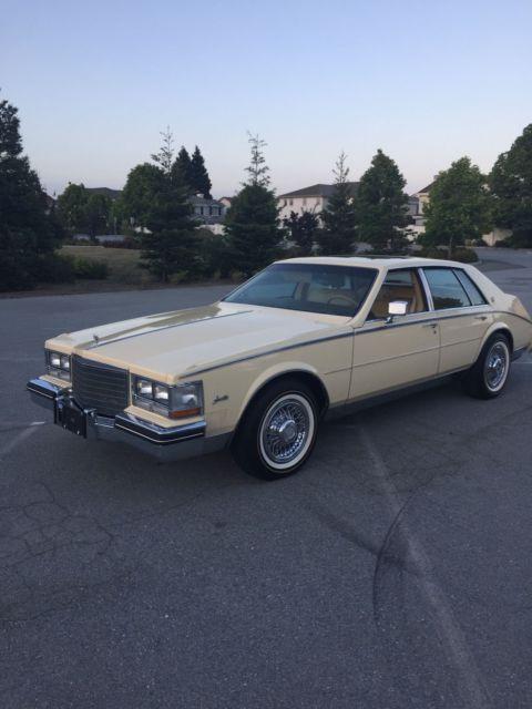 1985 Cadillac Seville Elegante For Sale Belmont, California, United